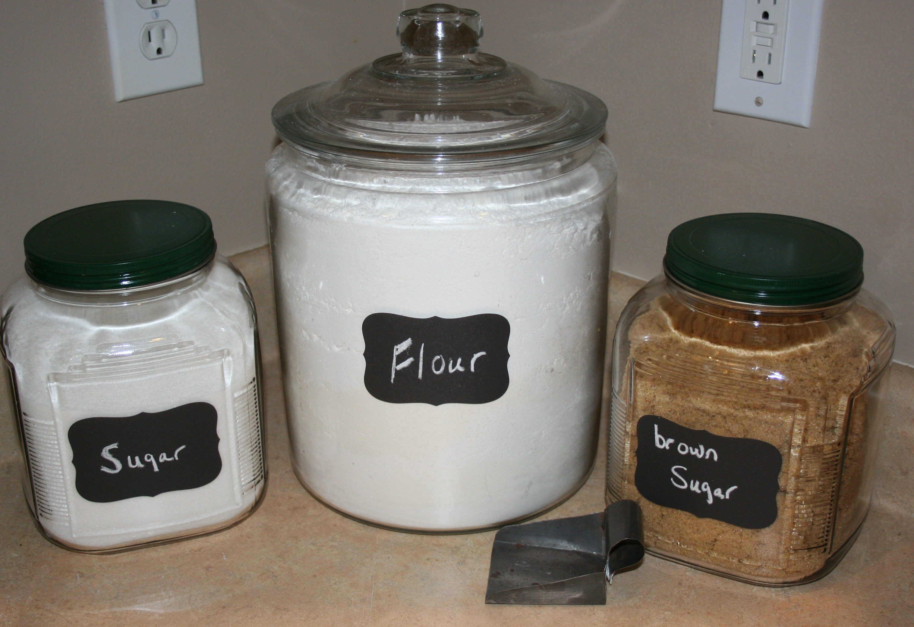 The Flour Container ...