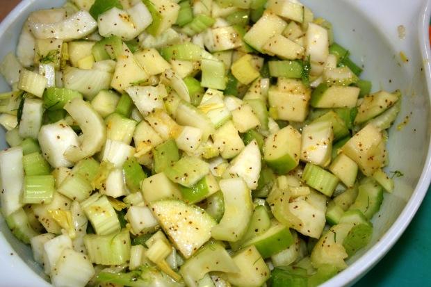 Summer Vinaigrette and a CrunchySalad