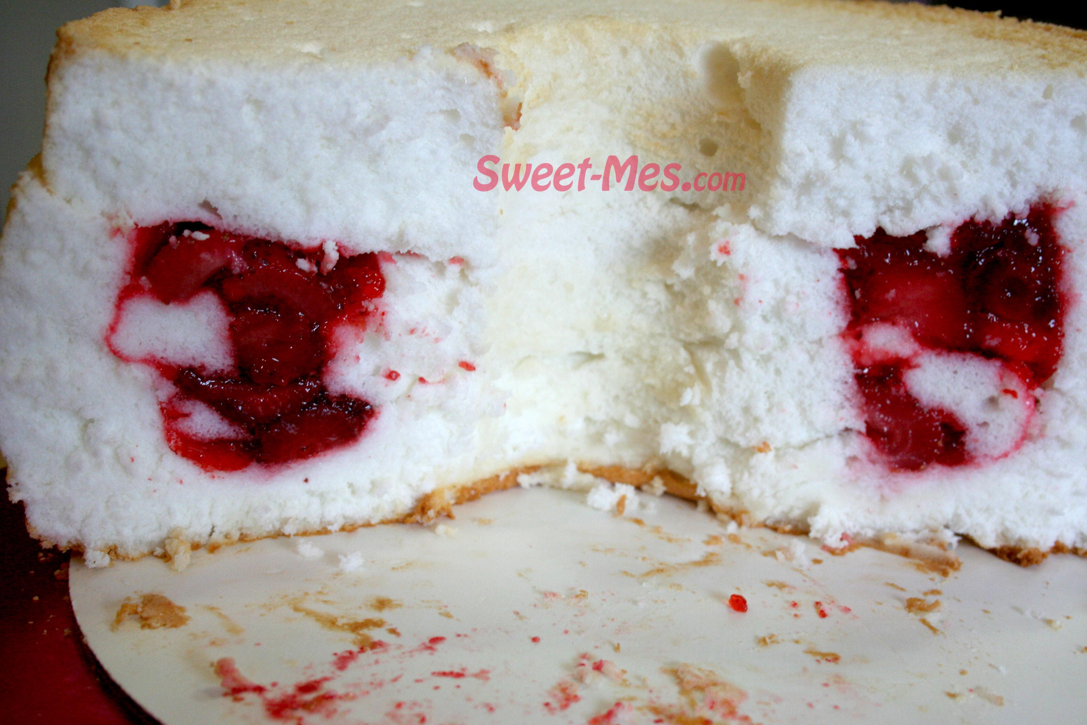 Angel Food Cake + Jello + Berries = a Retro Lovely Dessert! – Sweet ...
