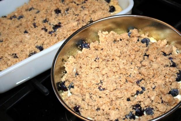 Blueberry Cream Cheese Coffee Cake, Need I SayMore?